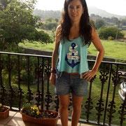 """Laura, la ganadora de nuestro sorteo de la camiseta """"Amor Eterno"""""""