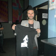 "Leiva con THG Camiseta ""Leiva"" en Burgos 2/3/2012"