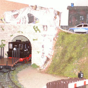 Tunnelportal Dezember 2013
