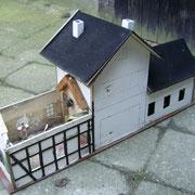 Das Dach ist runter