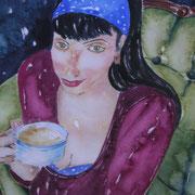 Grüner Sessel (Kaffee)