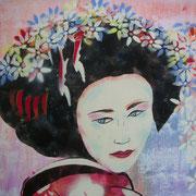 Geisha Päonie (Ausschnitt)