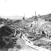 Bau vom neuen Limpachkanal
