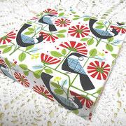 #266_トゥイのファブリックボード_01(ニュージーランドの鳥)
