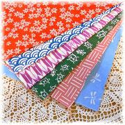 手ぬぐい/カルトナージュに使う日本の布