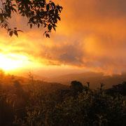 Sonneruntergang in Cerro Sakira by Alice Brechbühler (AB)