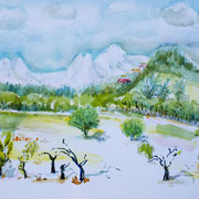 20. 06.20 Chaîne des Alpilles