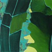 n.o.T. | Acryl auf Leinwand | 60 cm x 30 cm | 2009 • Privatbesitz