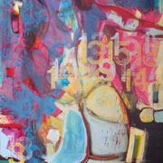 Morphing, Acryl auf LW, 70 x 100 cm, 2013