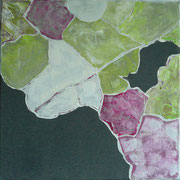 blattmakro | Acryl auf Leinwand | 30 cm x 30 cm | 2009