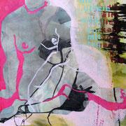 AbstAKTion I, Acryl auf LW, 70 x 100 cm, 2013