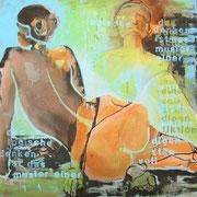 o.T., Acryl auf LW, 80 x 80 cm, 2013, privatbesitz