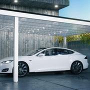 Weiß Carport Aluminum