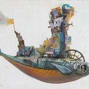 「やわらかな航海」F6 原太一作品
