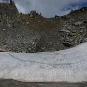 Bocchetta in cima alla Val di Tusei