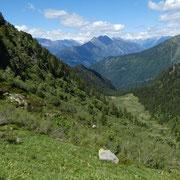Verso l'Alpe di Rescignaga