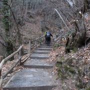 Sul sentiero verso Bresciadiga