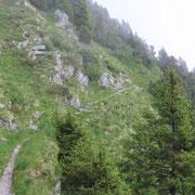 Sul sentiero che conduce al Passo San Jorio