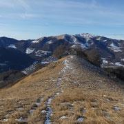 Verso il Monte Generoso