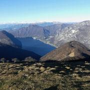 Verso il Lago di Lugano e Monte Boglia