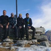 Con due amici della montagna sul Salmone 1560 m