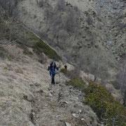 Verso l'Alpe Nisciora