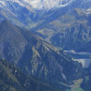 Lago di Luzzone e Pizzo Pianca