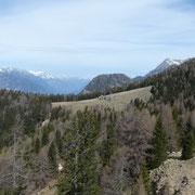 Verso l'Alpe di Peu