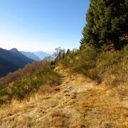 In marcia per i Monti del Dosso