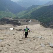 Discesa verso l'Alpe Trepezzi