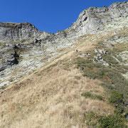 Arrivati in cima alla Valle di Stuello