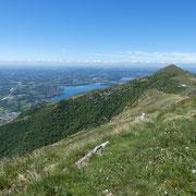 Verso il Monte Cornizzolo