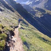 Sentiero per il Passo del Gries