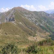 """Verso il Madone ed il """"nostro"""" sentiero fino all'Alpe di Bietri"""