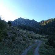 Alpe di Cadinello 1827 m e Corno di Gesero
