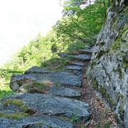 Sentiero per Pön di Sopra