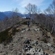 Verso il Monte Bigorio