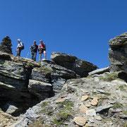 Wenglispitz 2841 m, scendiamo