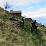 Arrivati all'Alpe Pianone 1612 m