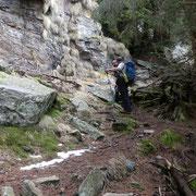 Arrivati all'Alp de Martum deviamo per il Piz de Molinera