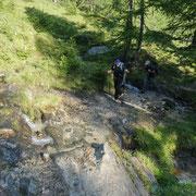 Salita all'Alpe Bovarina