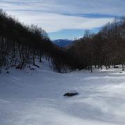 Da Nove Fontane verso la Valle Molinera
