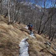 Sentiero per l'Alpe di Piero