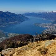 Panorama dalla Forcarella 1642 m