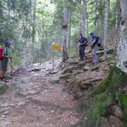 Discesa all'Alpe del Casone