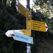 Scorciatoia per la Capanna Brogoldone