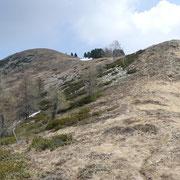 Orgià e la cima senza nome quotata 1692 m