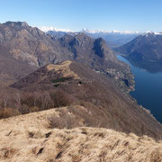 Monte dei Pizzoni e Monte Bronzone