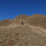 Verso la cima quotata 2183 m