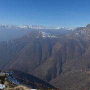 Al centro il Monte Zuccaro